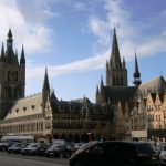 Central Square with Cloth Hall and St.-Martin's Cathedral