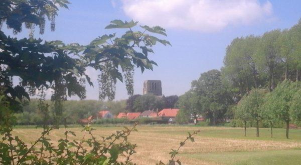 Land of Uylenspiegel and watch tower-churches