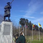 Meeting the Piper at Black Watch Corner